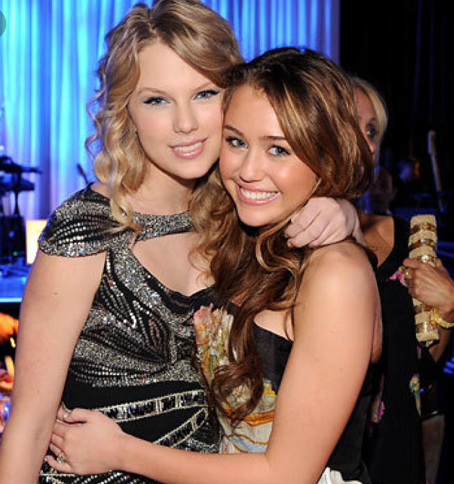 Who is more famous - Miley Cyrus or Taylor Swift?