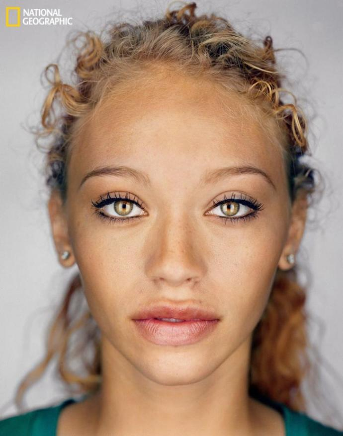 What are your thoughts on the average looking human in 2050?