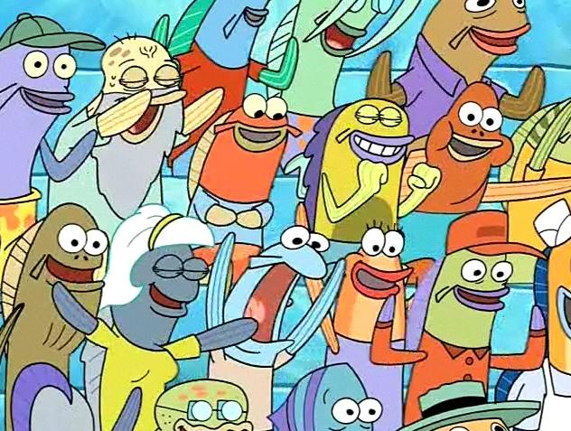 Who's your favorite background character from Spongebob?
