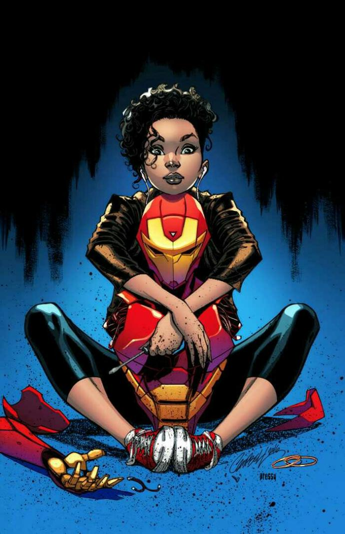 Opinions Of Riri Williams, The Black Iron Man Prodigy; Iron Heart.?