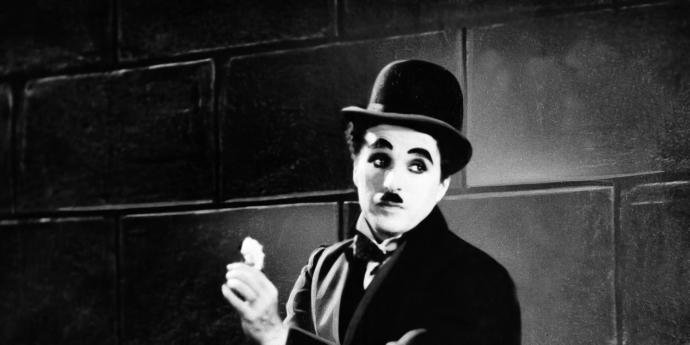 Guys, if they told you that you look like Charlie Chaplin, would you take it as a compliment or an insult?
