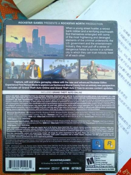 Does my gta5 have A pre order award??