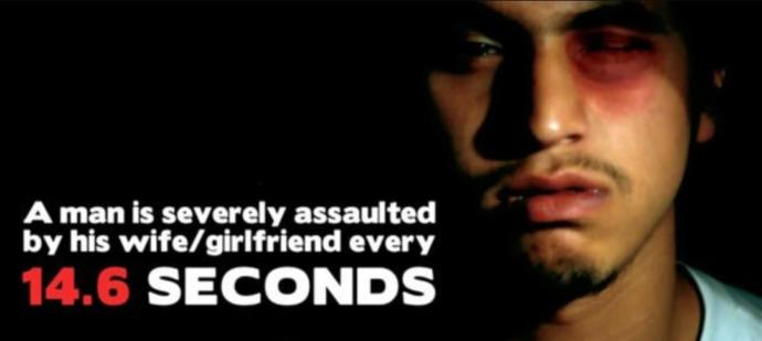 Domestic abuse of men by their female partners... and do the new laws on domestic violence in general go far enough?