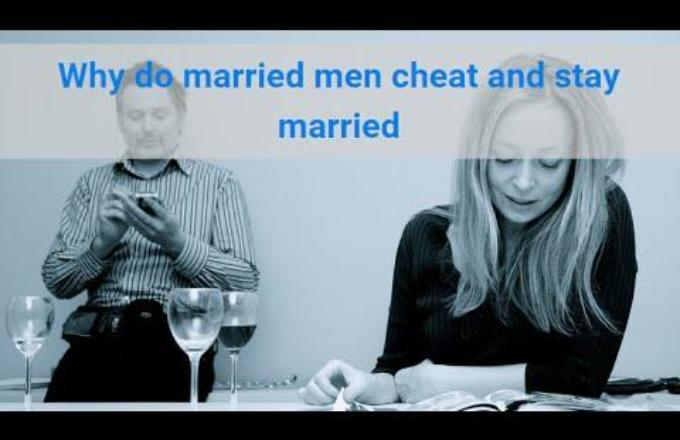 why do married guys cheat