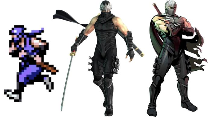 To gamers, which of these 3 video game ninja's do you like best?