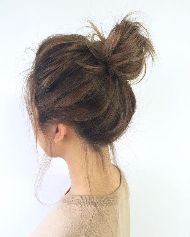 What do guys think of loose hair buns?