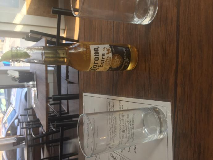 it is 10 pm in the uk. how do you drink a carona alcohol drink?