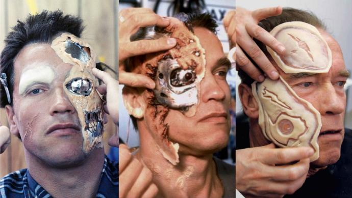 What movie character wears the best special effects make-up?