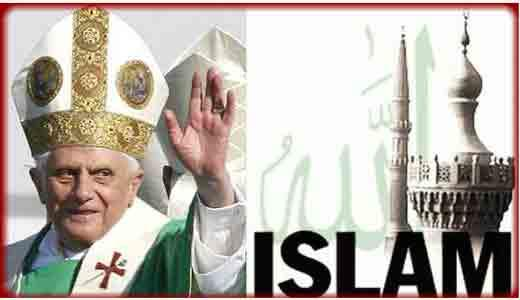 Who is worse, the Catholic institution or Islam?