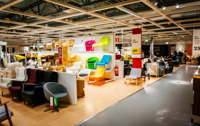 Would you try playing hide and seek in an IKEA?