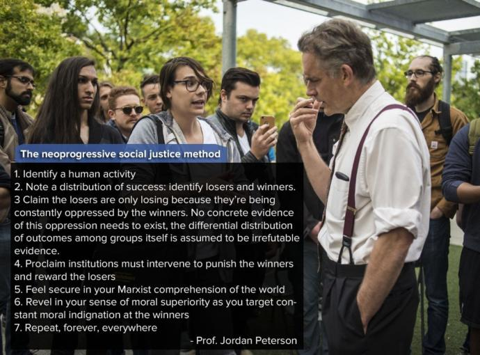 What are your thoughts on Professor Jordan Peterson?