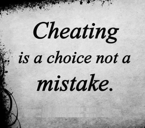 What do you think of Cheaters?