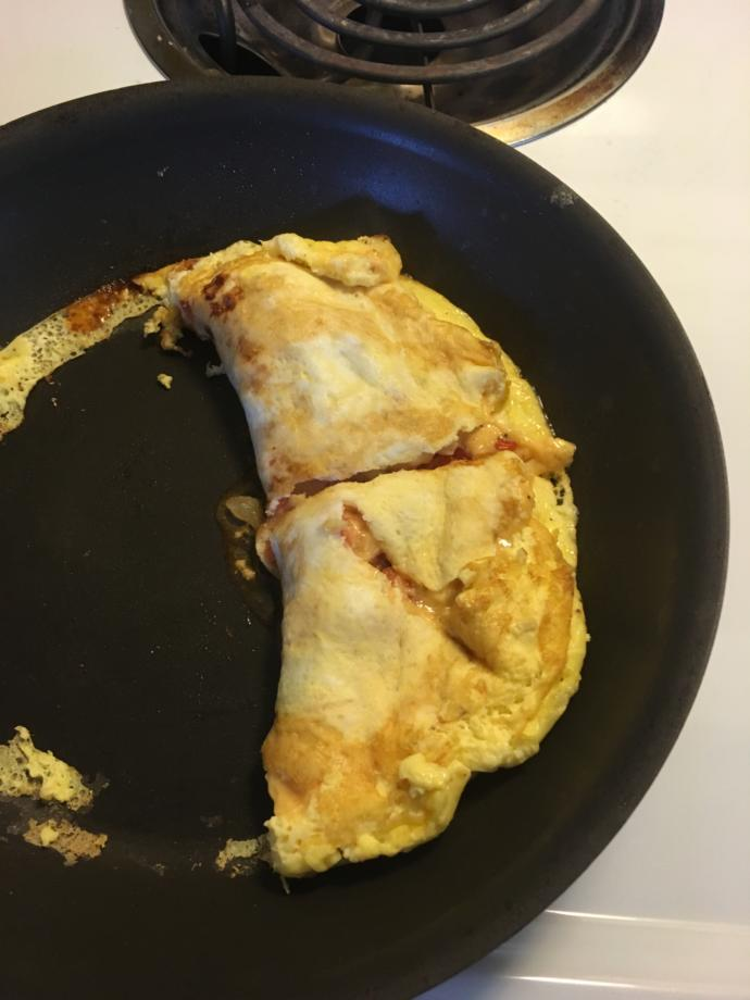 Rate my omelette?
