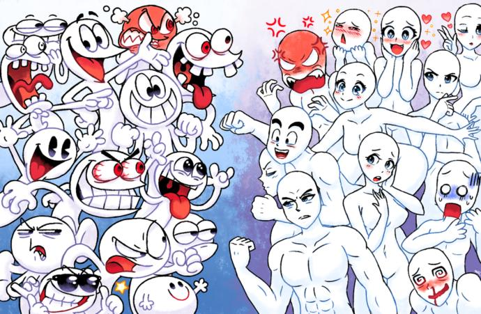 Anime or Cartoon art style?