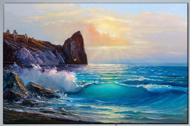 Which painting with the sea is the most beautiful?
