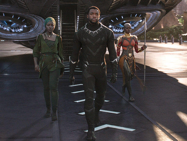 Is there anyone here who hasn't seen Black Panther and Infinity War?