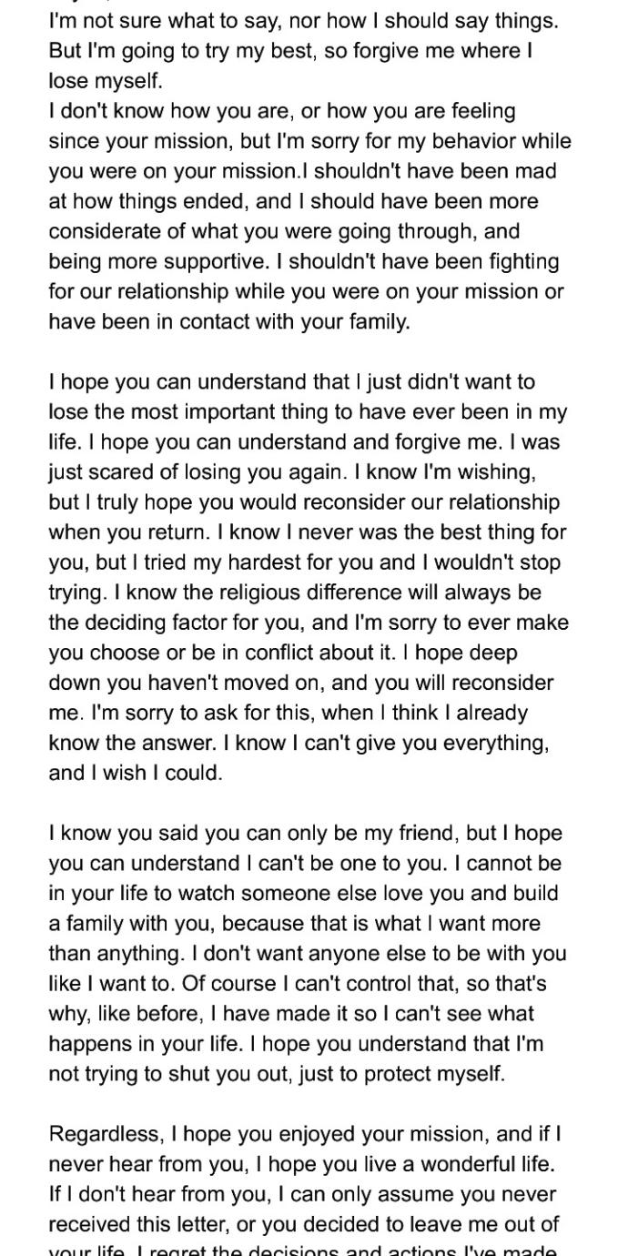 Please help!!! What do you think about this letter?