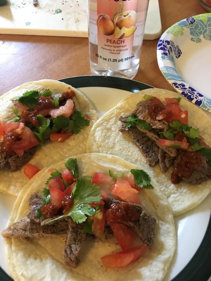 Rate my steak tacos?