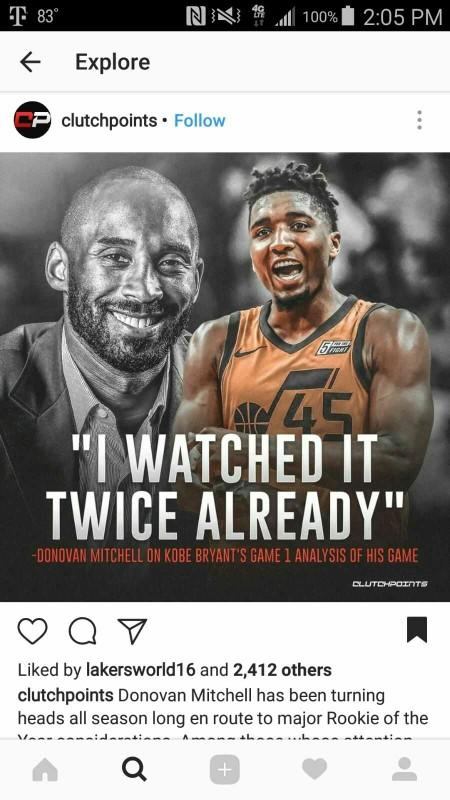 How do you feel about Donovan Mitchell?