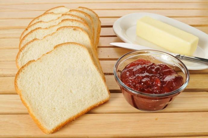 Peanut butter and jelly vs salted butter and jelly?