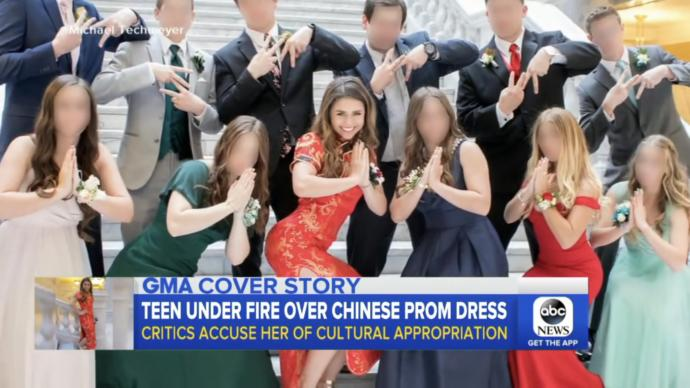 Teen gets backlash for cultural appropriation by Asians, thoughts?
