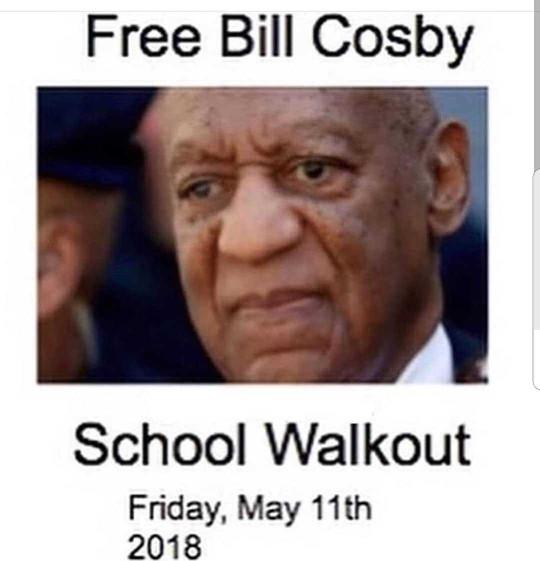 Are you attending the Bill Cosby School Walkout?