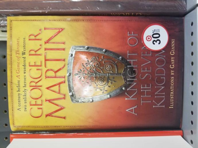 Have you read the newest Game of Thrones book?