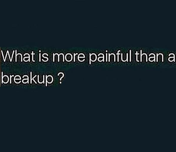 What hurts you more?