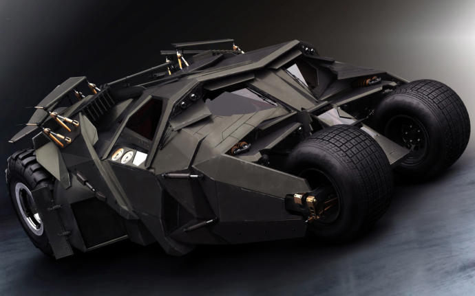 Which legendary movie car would you rather drive? The DeLorean from Back To The Future or the Batmobile/Tumbler?