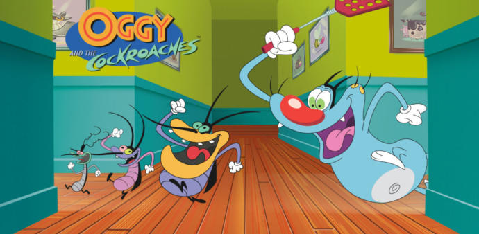Rate This Cartoon: Oggy and the Cockroaches?
