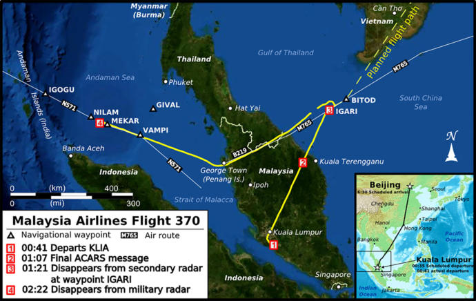 Do you think most of the wreckage of Malaysian Airlines flight MH370 will ever be found?