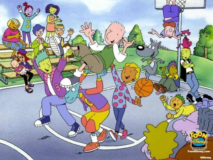 Rate this Cartoon: Doug (Nickelodeon and Disney versions)?