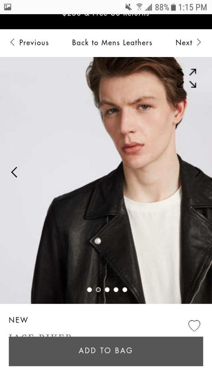 Do you like this leather jacket I want but can't afford?