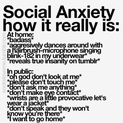Does anyone here have social anxiety? How do you deal with it?