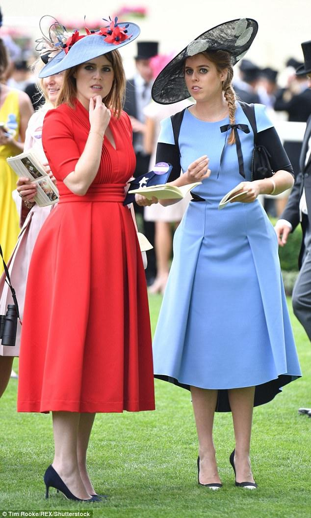 Watching the royal wedding: do you think princess Beatrice and Eugenie are beautiful girls?