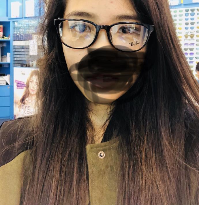 Do huge glasses on a girl turn you off?