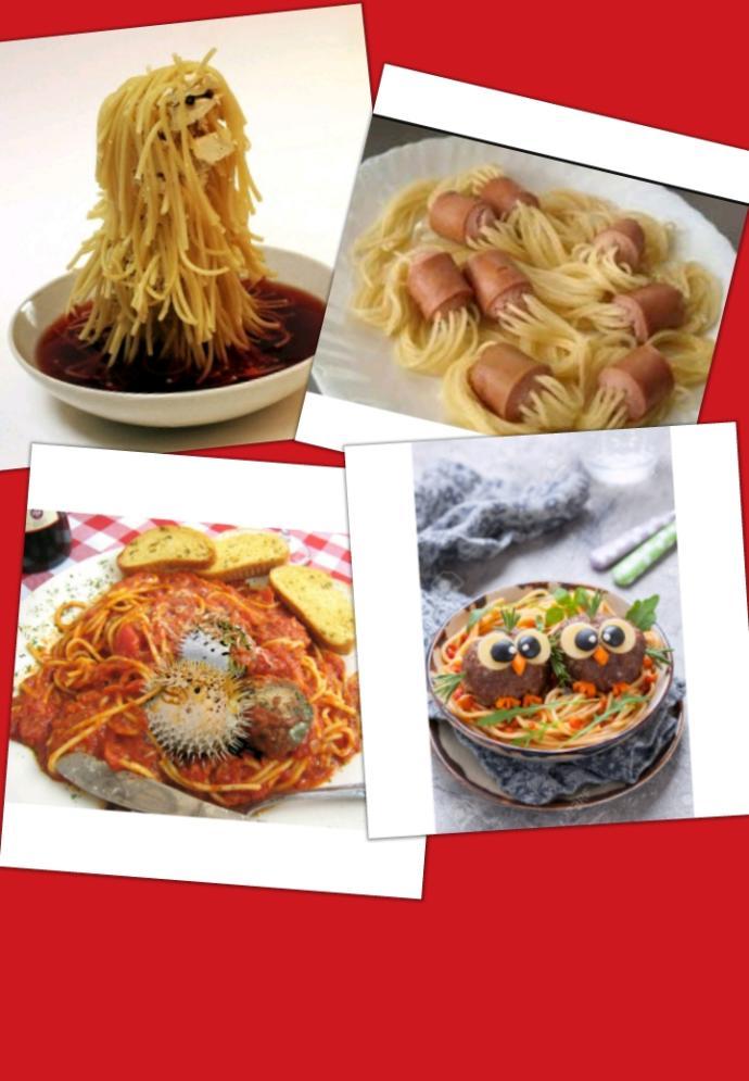 Which spaghetti looks yummy?