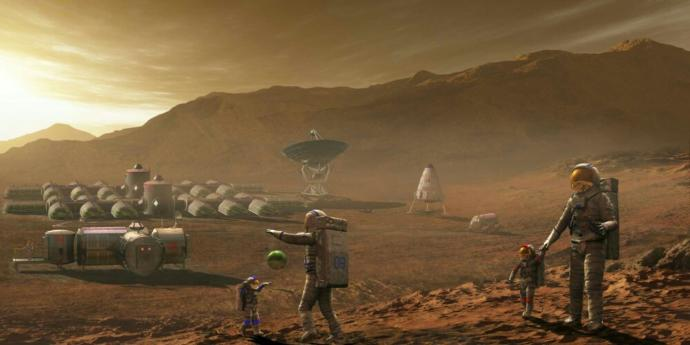 Would you like to live on the Moon or Mars?
