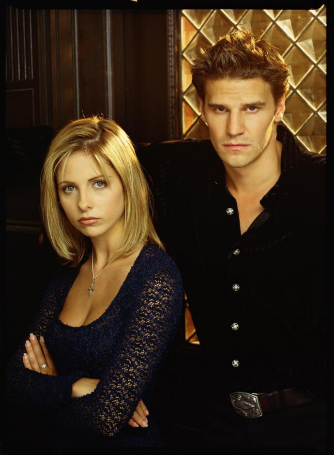 Buffy the Vampire Slayer fans: Do you wish Angel could have been in all 7 seasons?