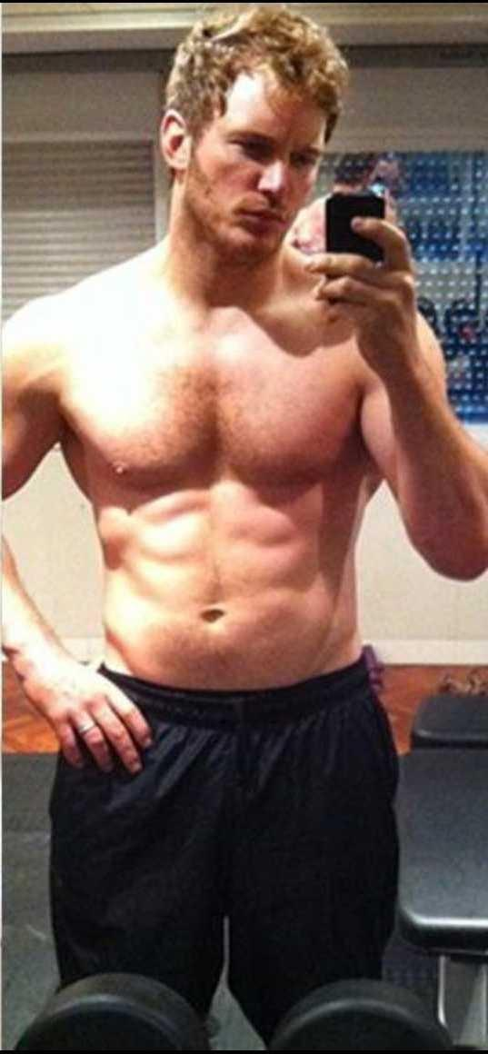 Which is the hotter Chris Pratt - chubby Chris or muscular Chris??