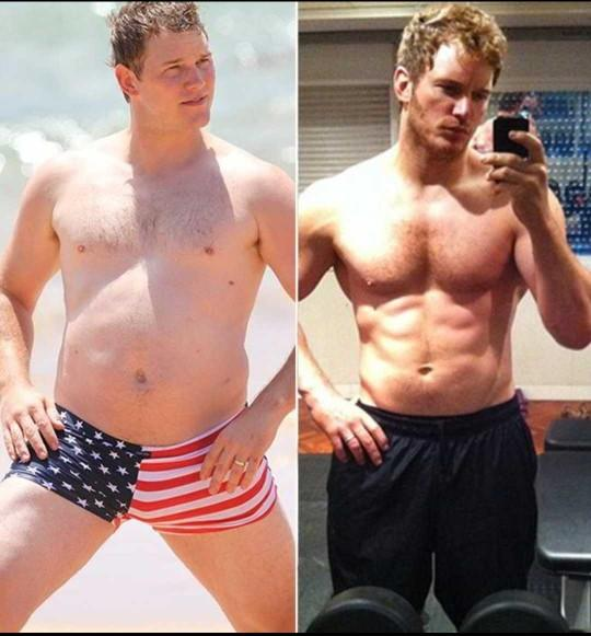 Which is the hotter Chris Pratt - chubby Chris or muscular Chris?