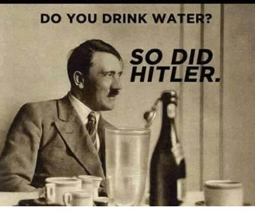 Do you drink water?
