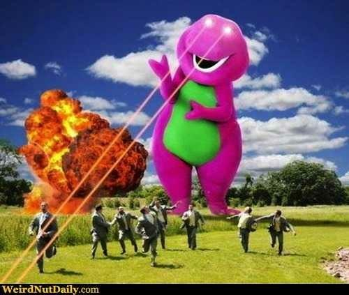 Do you think Barney is really evil?