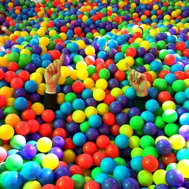 Would you be brave enough to conquer a Adult Ball Pit?