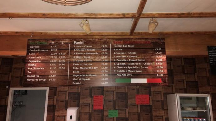 What do you think of the prices of this cafe in tooting? does any of the food interest you? and what do you think of the prices? they good? too much?