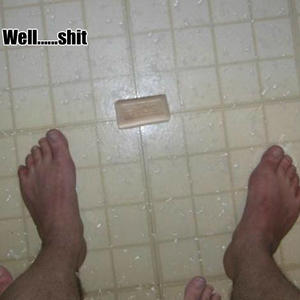 If You Drop Soap On The Floor Is The Floor Clean Or The Soap Dirty