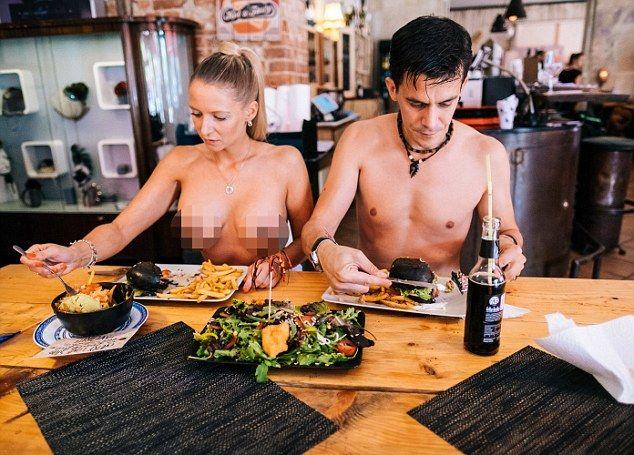 Would you eat at a nude restaurant?