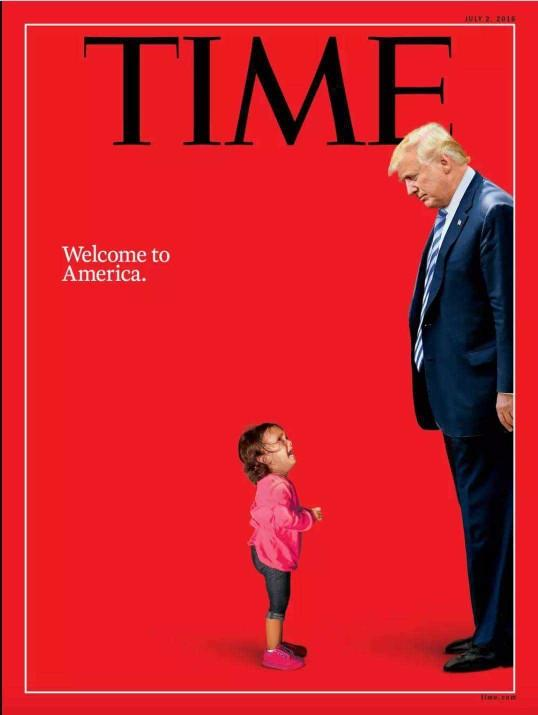 What do you think about the new cover for Times magazine?
