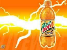 Have you ever had mtn dew livewire?