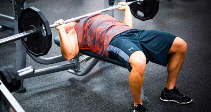 What's the most weight you've been able to bench press?